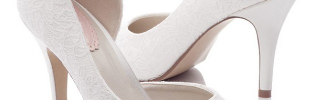 chaussures mariée dentelle