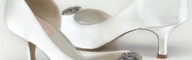 Chaussures de mariée petits talons Cinnamon