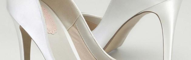 Escarpins de mariée blanc Honey