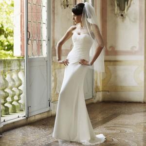 robe de mariage fourreau Claire