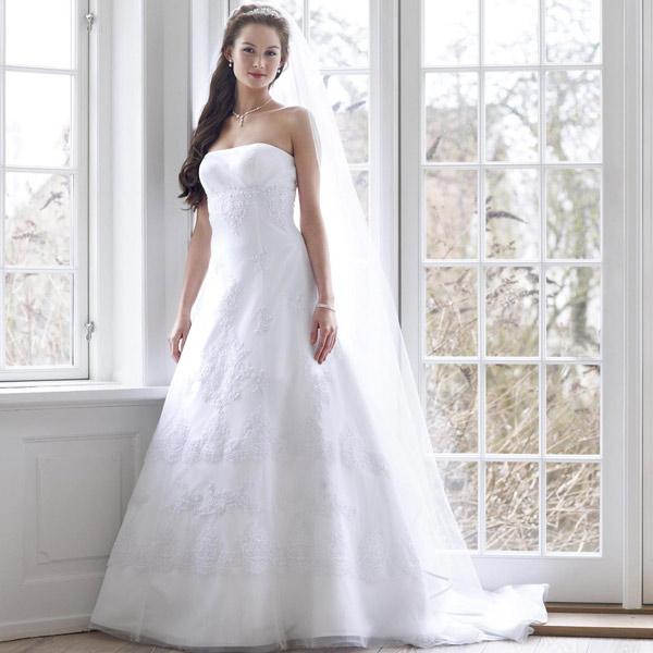 Robe de mariée blanche Inaya