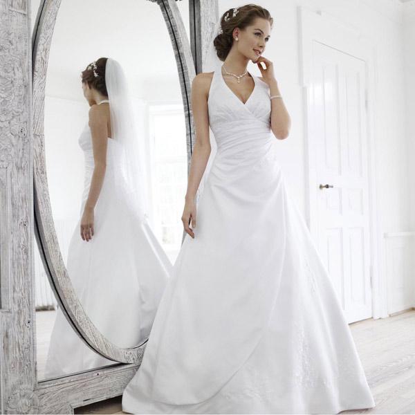 Robe de mariée blanche Lya