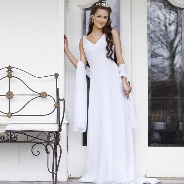 Robe de mariée blanche Romy