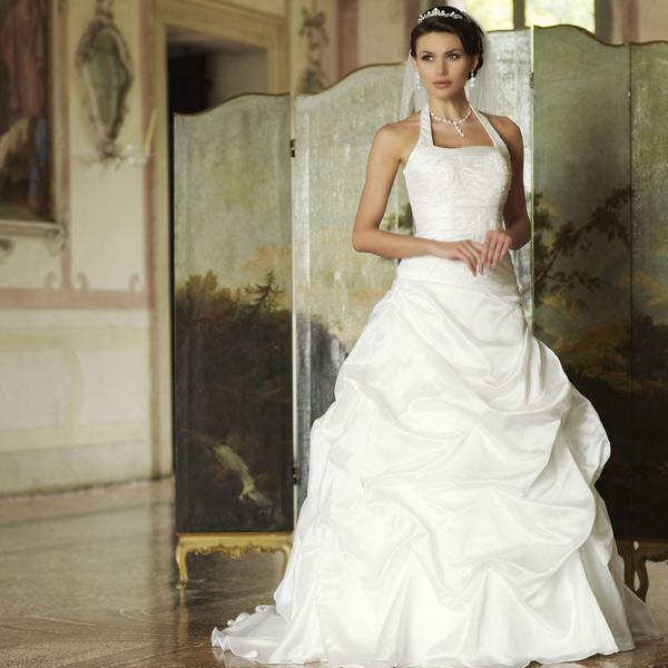 Robe de mariée encolure américaine Hope