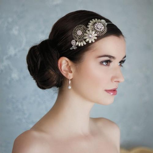 ... serre-tête: l'accessoire tendance pour votre coiffure de mariée