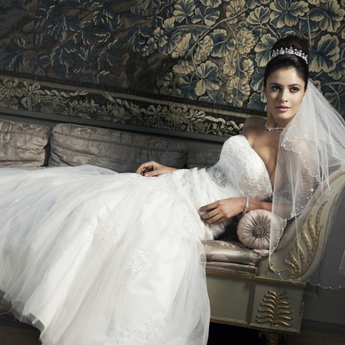 Robe mariée en dentelle Cathy