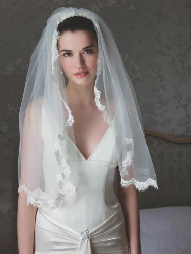 voile mariage dentelle