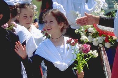 Un mariage en camargue un mariage authentique for Robes de demoiselle d honneur pour le mariage d automne en plein air