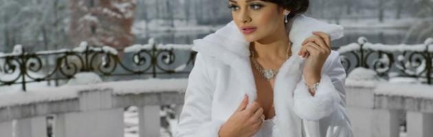 boléro mariage hiver
