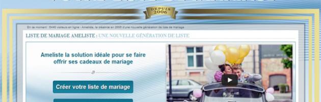 liste mariage