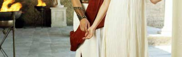robe mariée empire romain