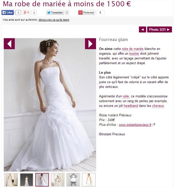 Robe de mariée Instant Précieux