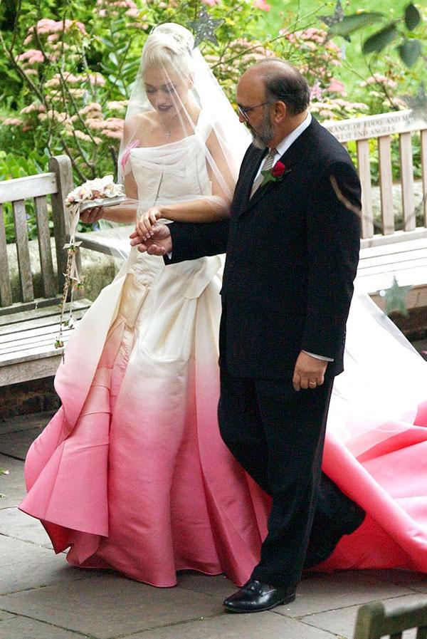 robe mariage Gwen Stephani