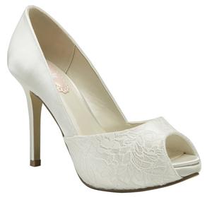 Chaussures de mariage de mariée marron femme TIKdiXHl