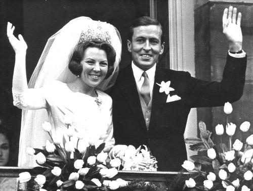 robe mariage Reine Beatrix