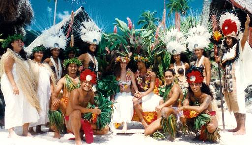 tenue mariage polynésie