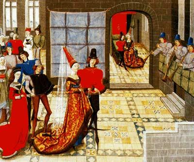 robe de mariage Moyen-Age