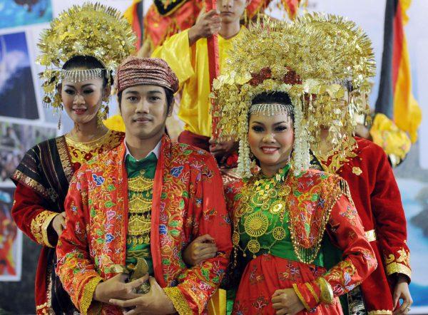 robe mariage Indonésie