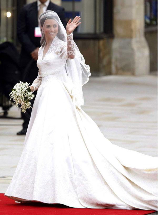 robe mariage de Kate Middleton