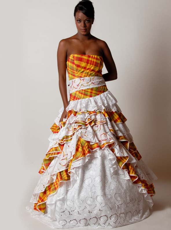 robe mariage creole