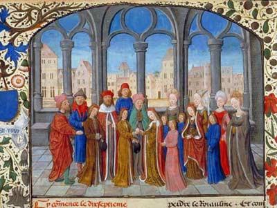 robe mariage époque médiévale
