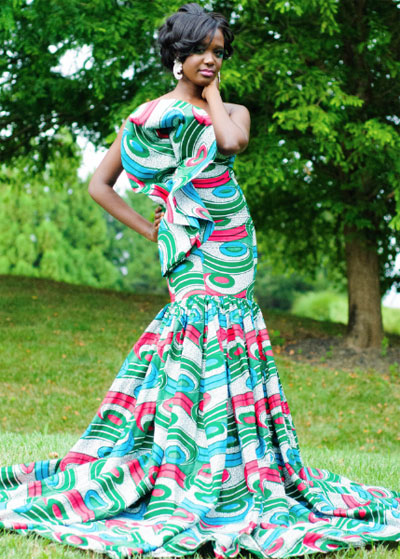 robe mariage pagne africain