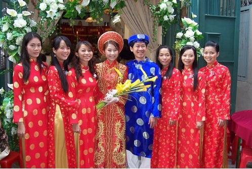 robe mariage Vietnam