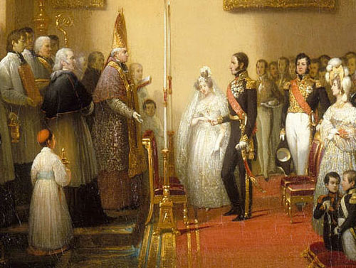 robe mariée Marie-Louise d'Autriche