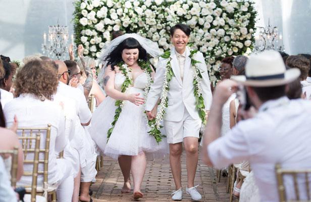 robe mariée Beth Ditto