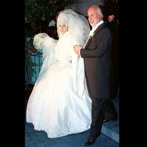 robe mariée Céline Dion