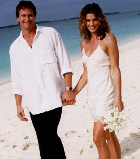 robe mariée Cindy Crawford