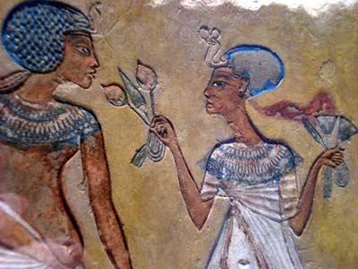 robe mariée Egypte ancienne