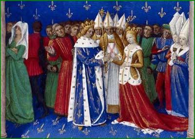 robe mariée époque médiévale