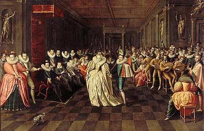 robe mariage sous François 1er
