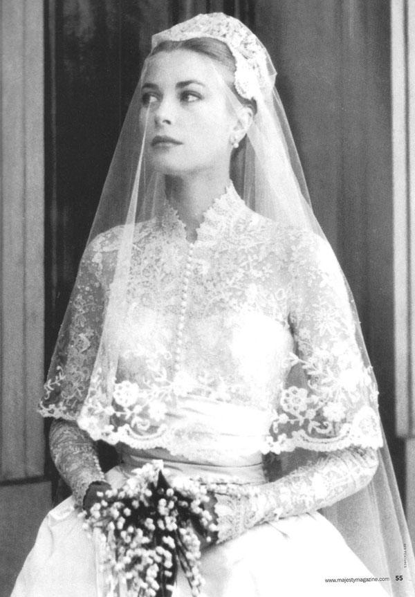 robe mariage Grace Kelly