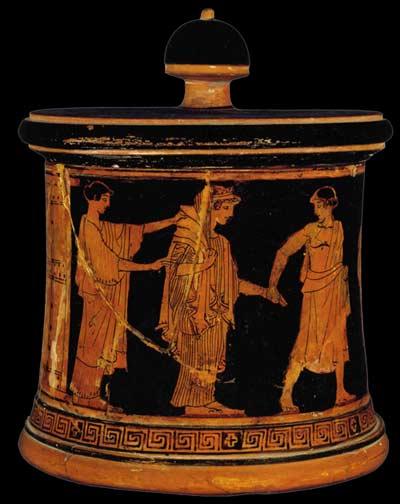 robe mariée Grèce Antique