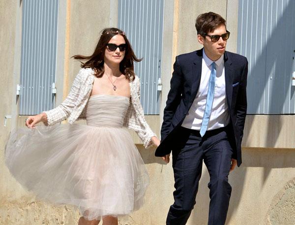 robe mariée Keira Knightley