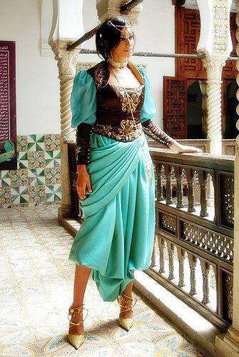 robe mariage melhfa