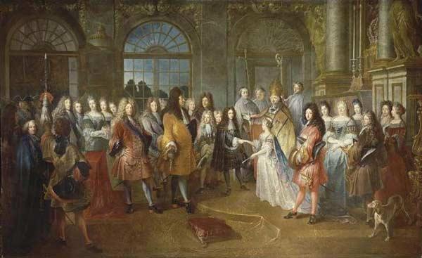 robe mariée monarchie absolue