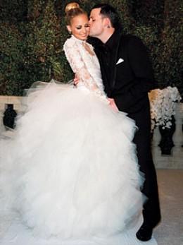 robe mariage Nicole Richie