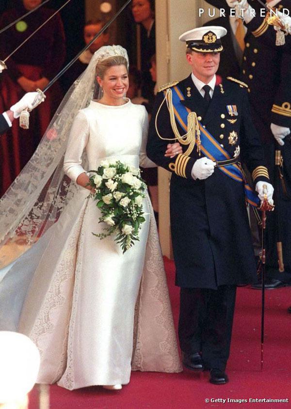 robe mariage reine Maxima