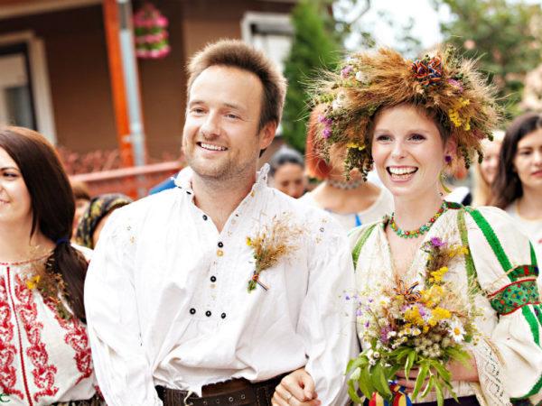 robe mariage Roumanie