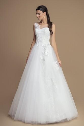 Robe mariage princesse dentelle et tulle