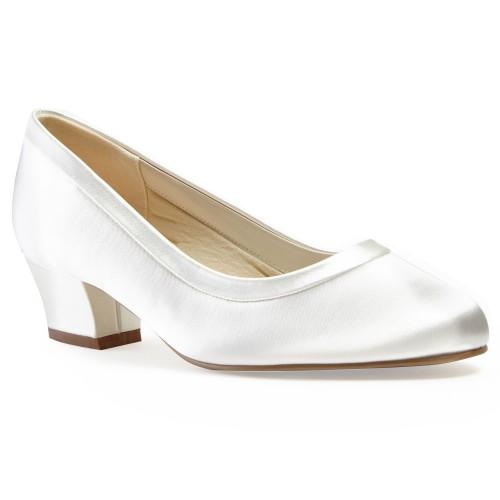 a17d11517ab07 Chaussure de mariage à petit talon pour pieds larges Favour