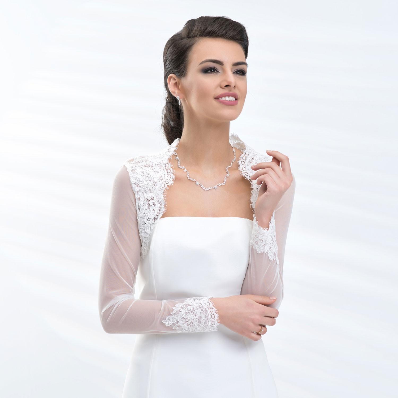Boléros de mariage à manches longues - Instant Précieux 3994db9fe49