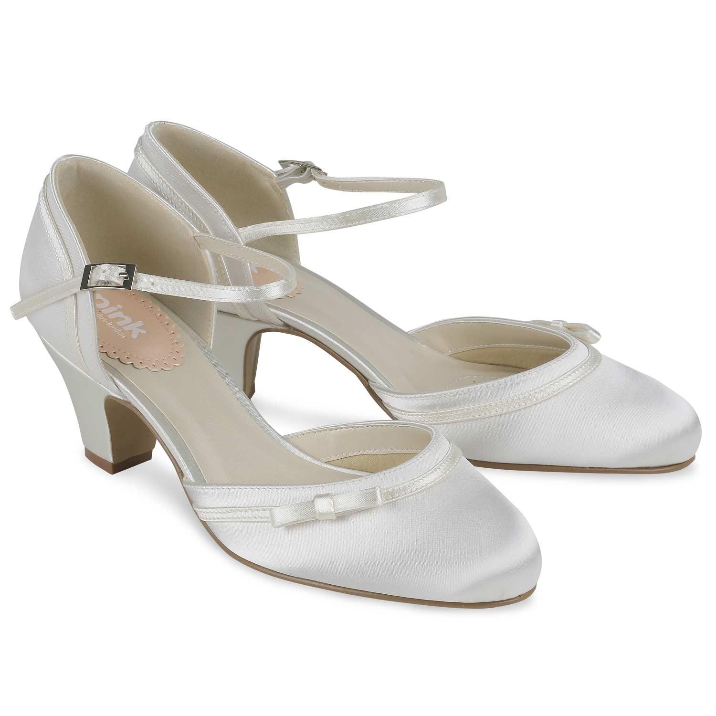 chaussure ivoire mariage petit talon. Black Bedroom Furniture Sets. Home Design Ideas