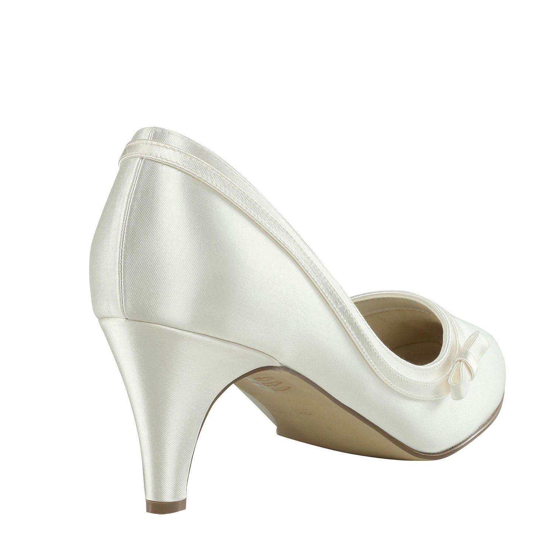 chaussures mariage ivoire talon moyen instant pr cieux. Black Bedroom Furniture Sets. Home Design Ideas