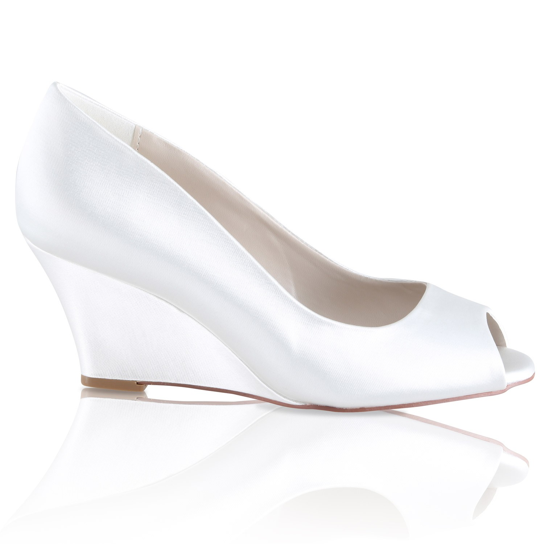 chaussure talon mariage compenset