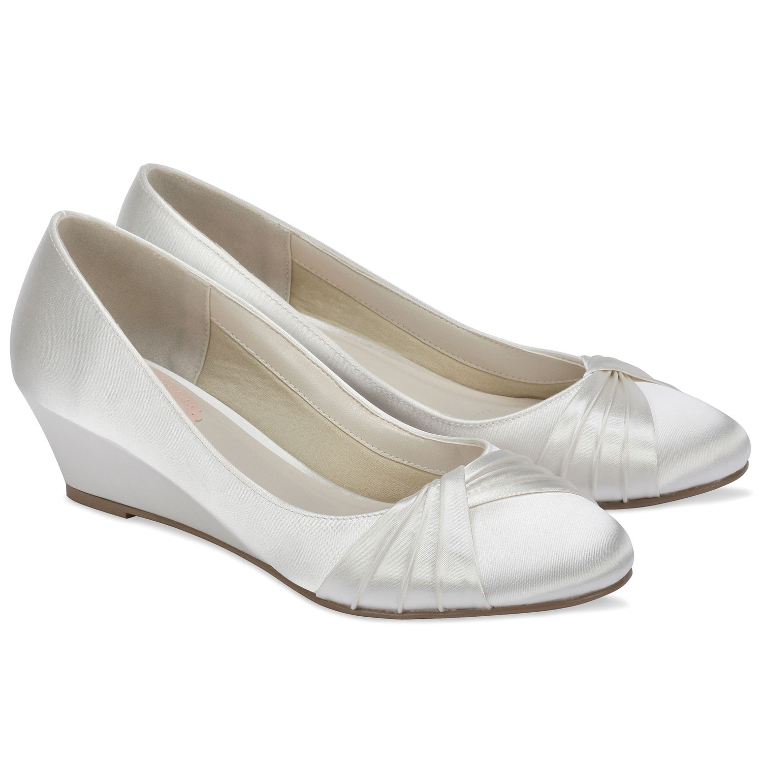 chaussures mariage gleam - Chaussure Compense Mariage