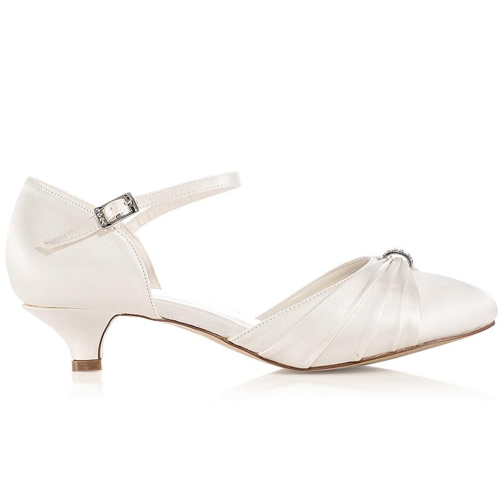 Chaussure A Talon De Mariage Blanc